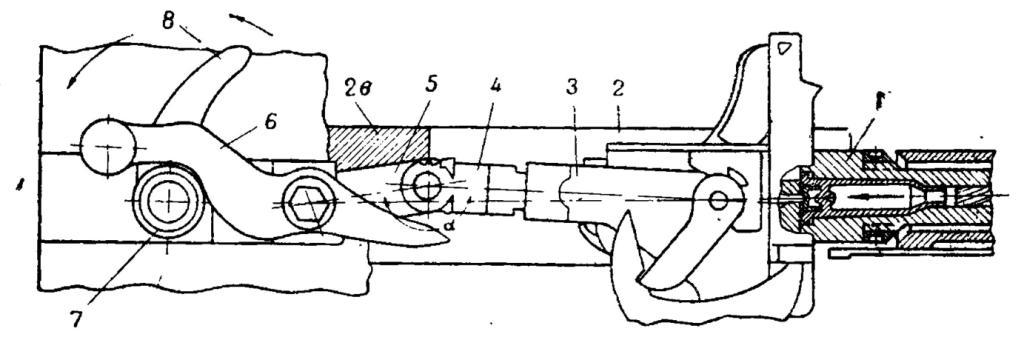Рис. 2. Канал ствола заперт.